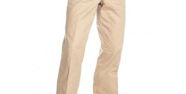 Circle S Men's Apparel - Cotton Snap Dress Ranch Pant - Khaki  Circle S Me