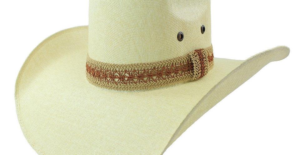 Tombstone Pro-Bull 15x Ramie-Buntal Cowboy Hat