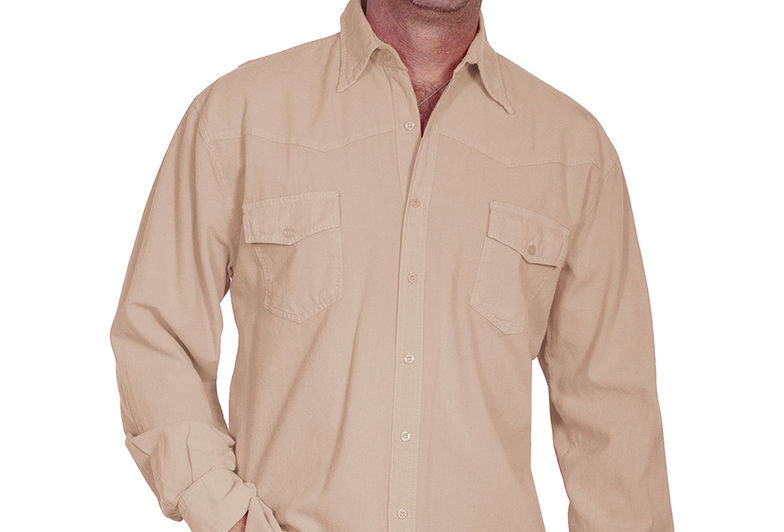 Scully Cantina Western Yoke Shirt