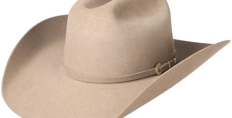 """American 40x Natural 4-1/4"""" Brim Felt Cowboy Hat"""