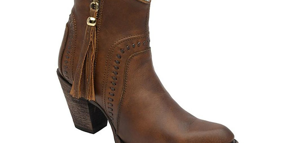Corral Cognac Ankle Boot
