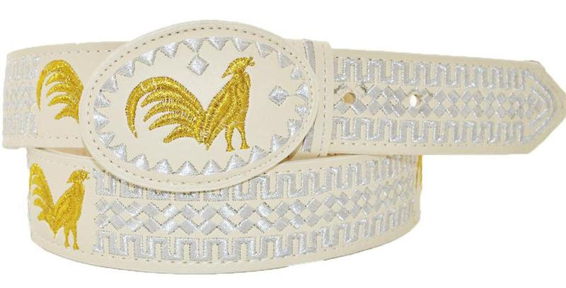 EMBROIDERED COWBOY BELT IMP-13111