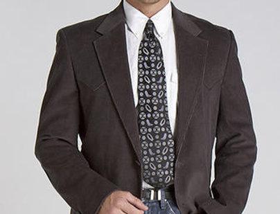 Circle S Men's Apparel - Lubbock - Sport Coat - Grey