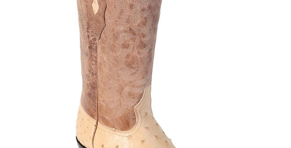 Los Altos Oryx Ostrich Cowboy Boot J Toe