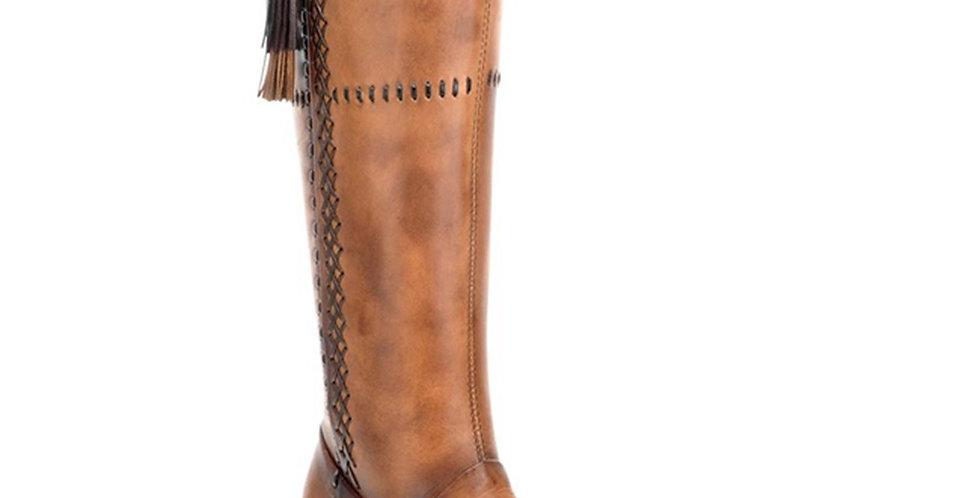 Cuadra Ladies Res Crust Biza Arena Tall Boot - 1X2XCS