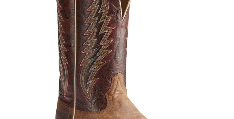 Ariat Men's Branding Pen Square Toe Cowboy Boots