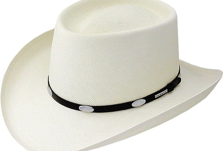 Stetson Royal Flush 10X Shantung Straw Cowboy Hat