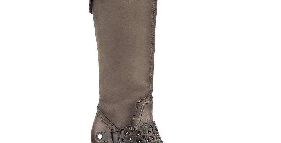 Cuadra Crust Wax Taupe Tall Boot