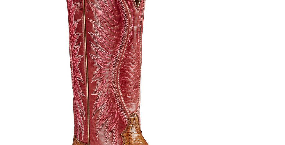 Ariat Vaquera Caiman Square Toe Cowgirl Boots