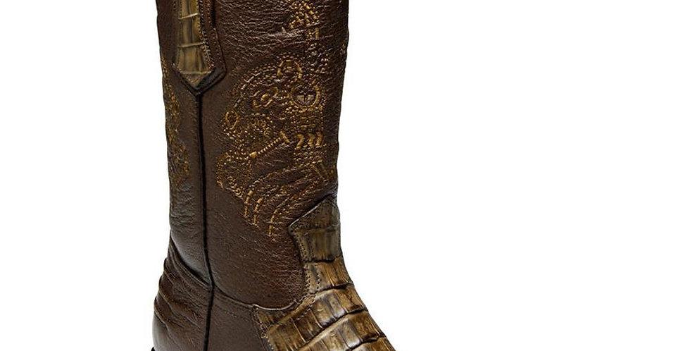 Cuadra Men's Caiman Belly Western Boots