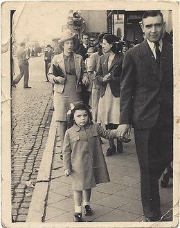 Francine Lazarus - A Hidden Jewish Child from Belgium