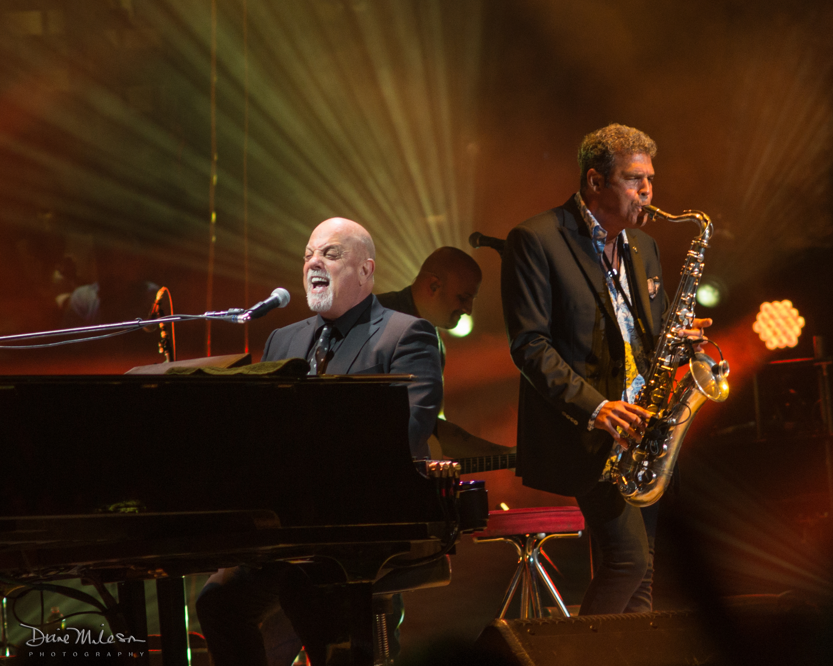 Billy Joel and Mark Rivera at MSG