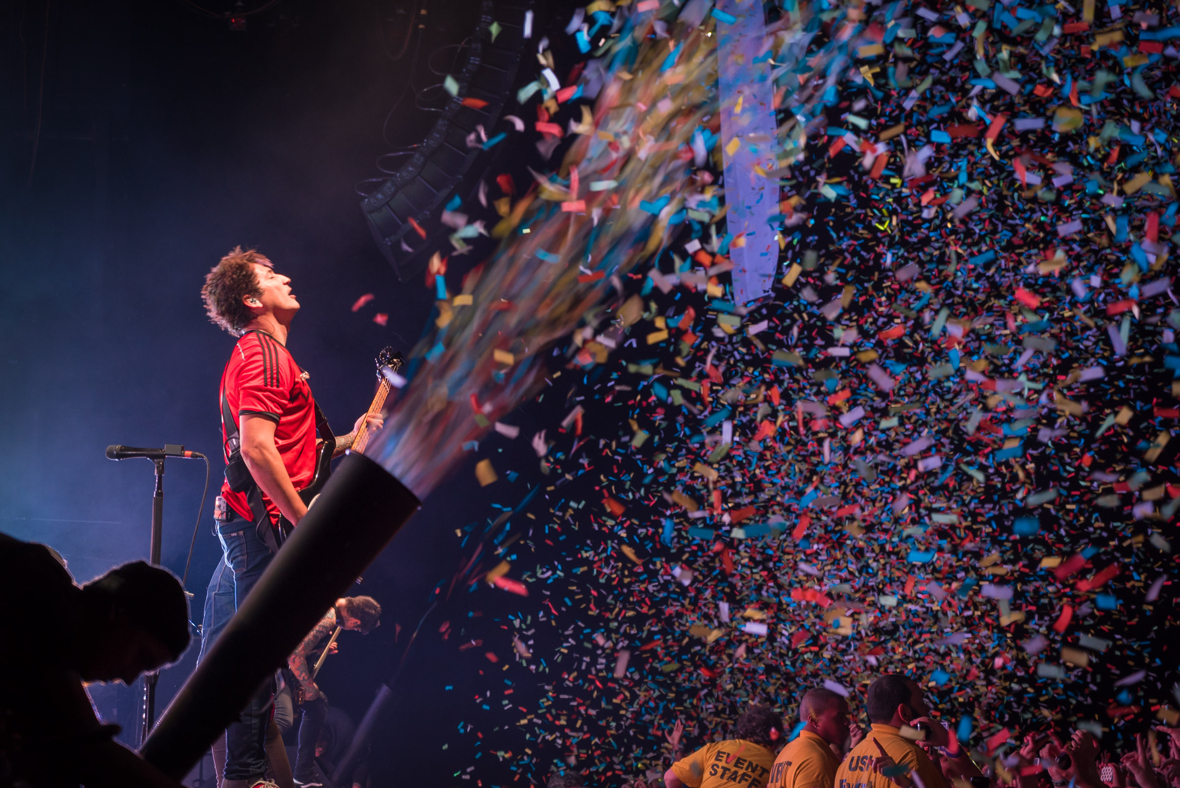 Confetti at Best Buy Theater