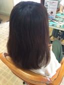 30代女性 カット 縮毛矯正