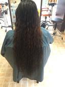 20代 ネパール女性 カット 縮毛矯正