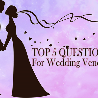 TOP 5 QUESTIONS TO ASK ANY WEDDING VENDOR