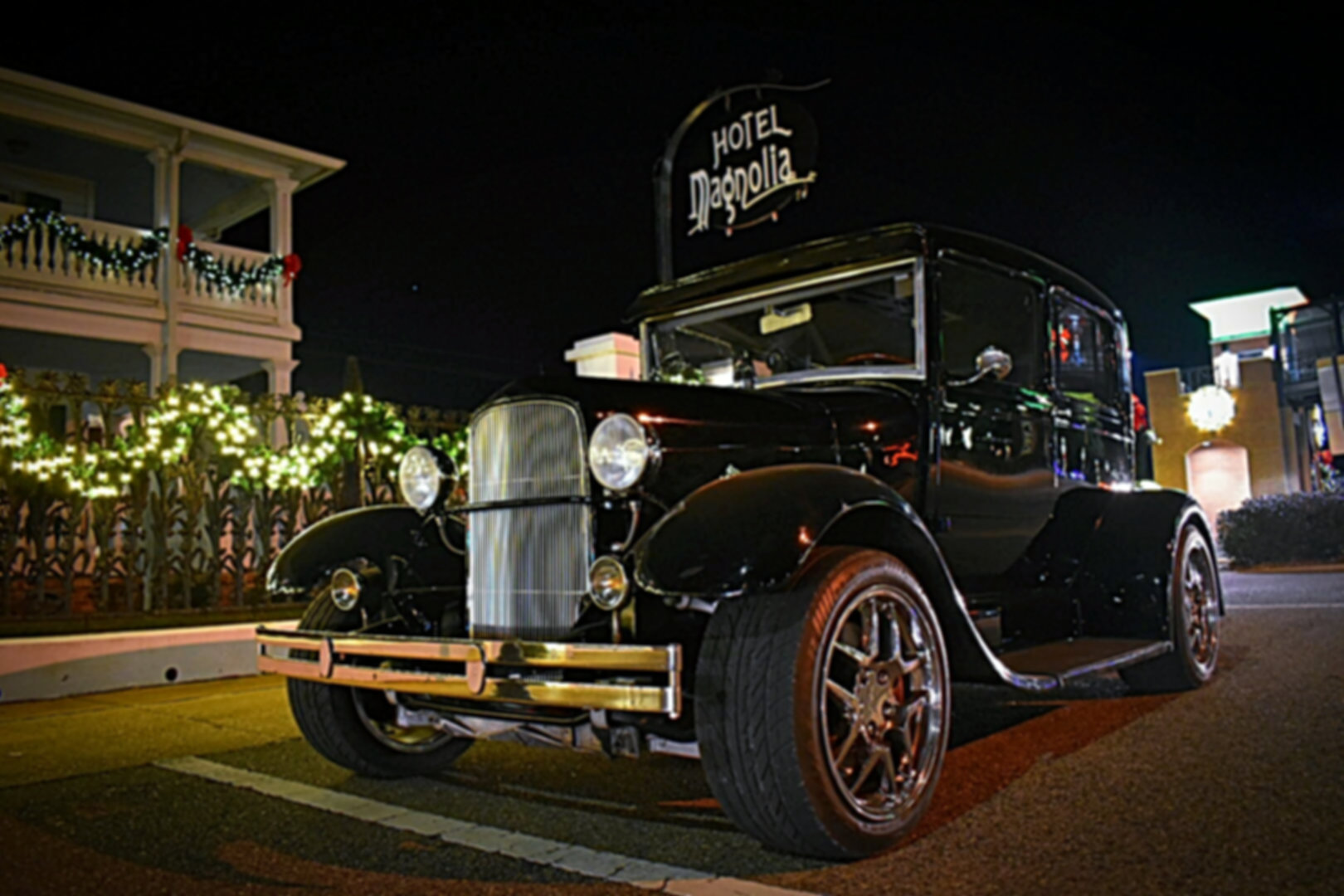 1929 Ford Model A available for weddings from Coastal Cruisers Classic Car Rentals