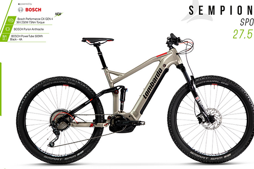 Lombardo e-Sempione Sport full Bosch Cx 500wh