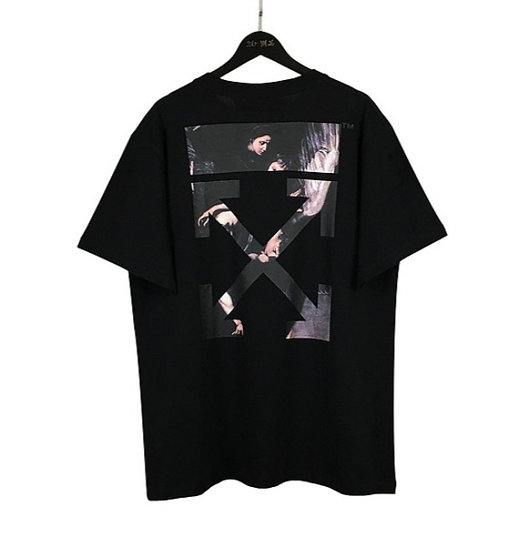 OFF-WHITE Caravaggio Tee Black