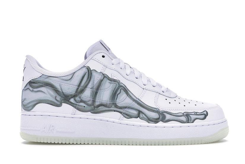 Nike Air Force 1 Low Skeleton Halloween White