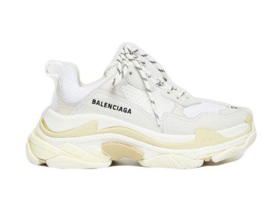 Balenciaga Triple S White