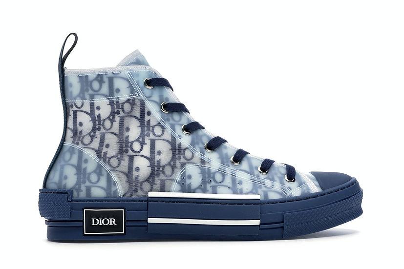 Dior Oblique High Top Navy