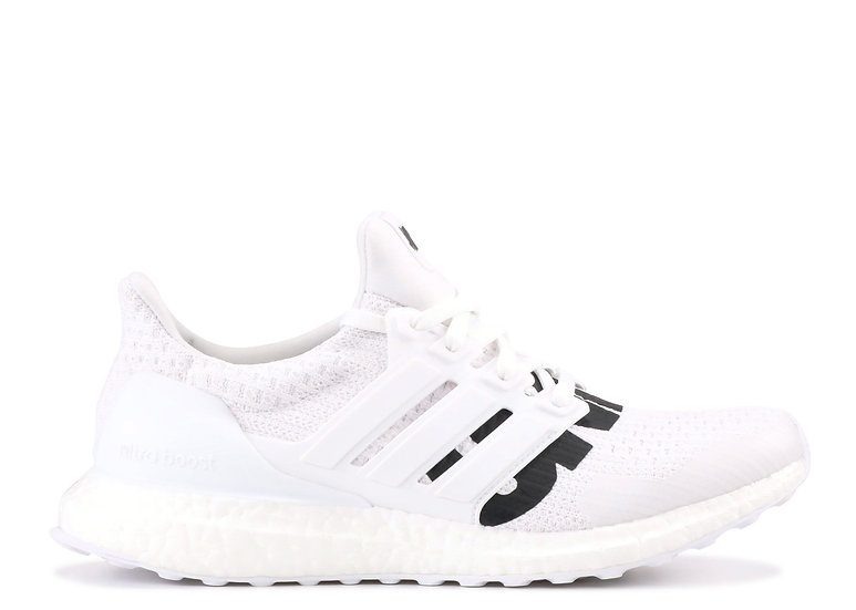 UNDEFEATED x adidas Ultra Boost 4.0 White