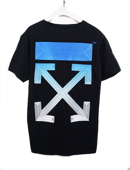 OFF-WHITE Dover Street Market Blue Gradient Tee