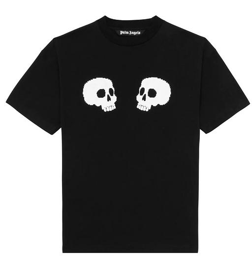 Palm Angels Skull Tee Black