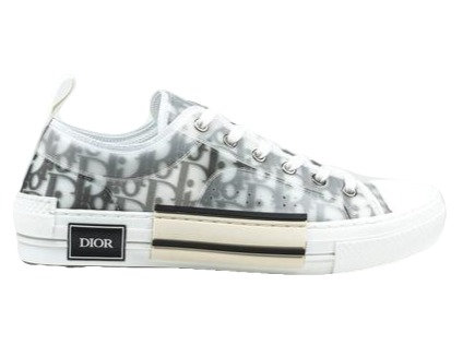 Dior Oblique Low Top White
