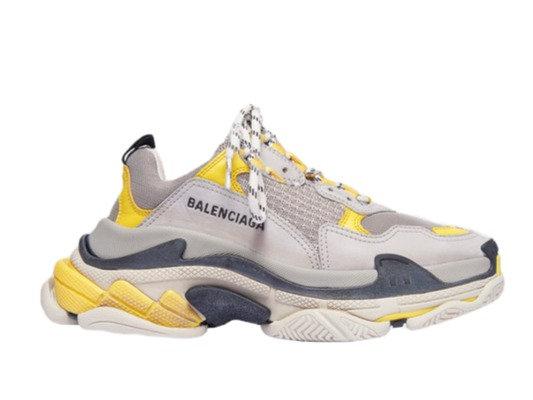 Balenciaga Triple S Yellow Grey