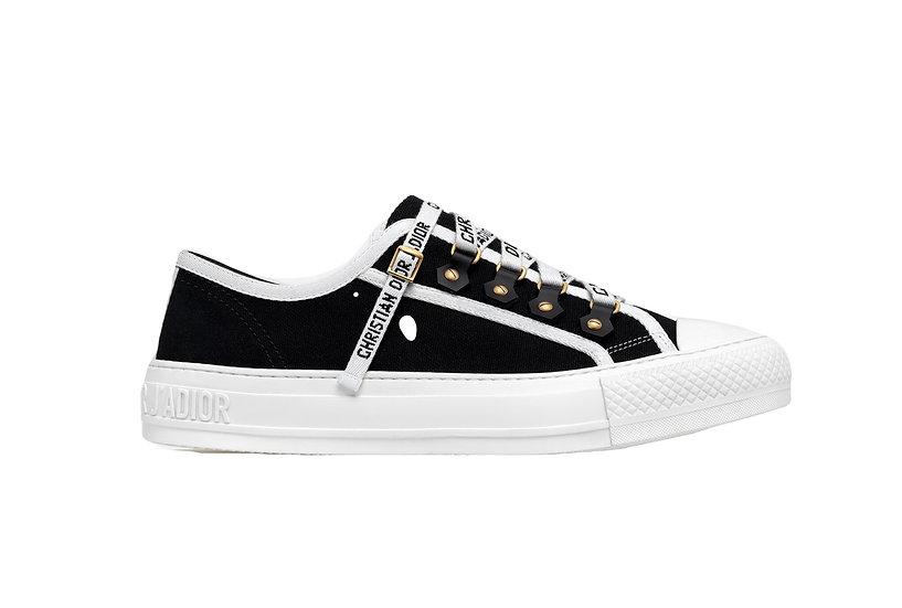 """Walk""""N""""Dior Low-Top Sneaker in Black"""