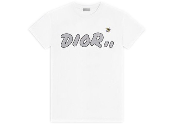 KAWS x Dior Logo T-Shirt White