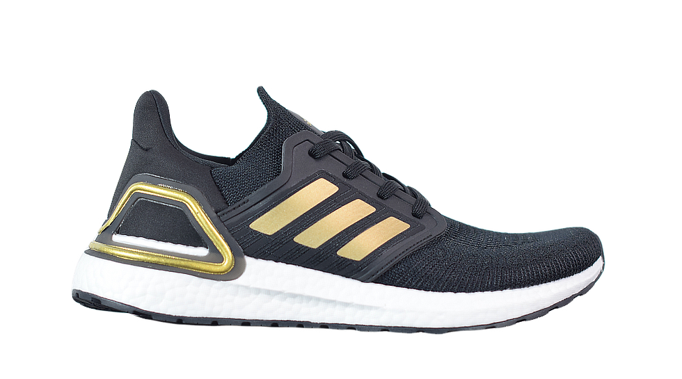 adidas Ultra Boost 2020 Black / Metallic Gold