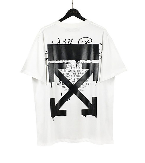 OFF-WHITE Dripping Arrows Tee White