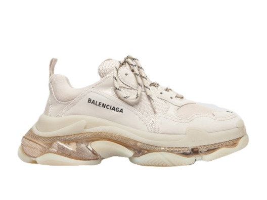 Balenciaga Triple S Clear Sole Crystal