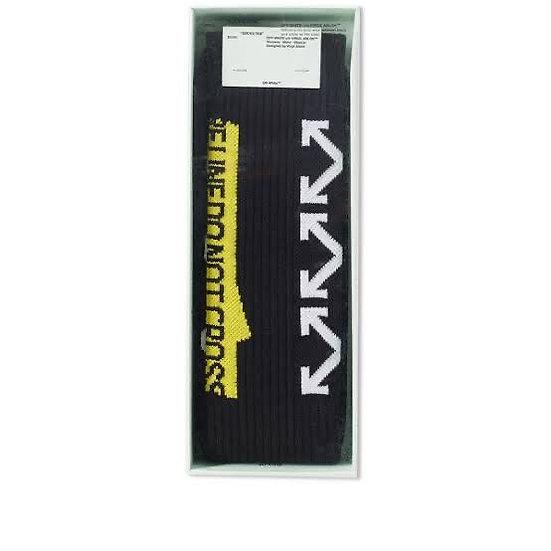 OFF-WHITE Arrows Socks Black