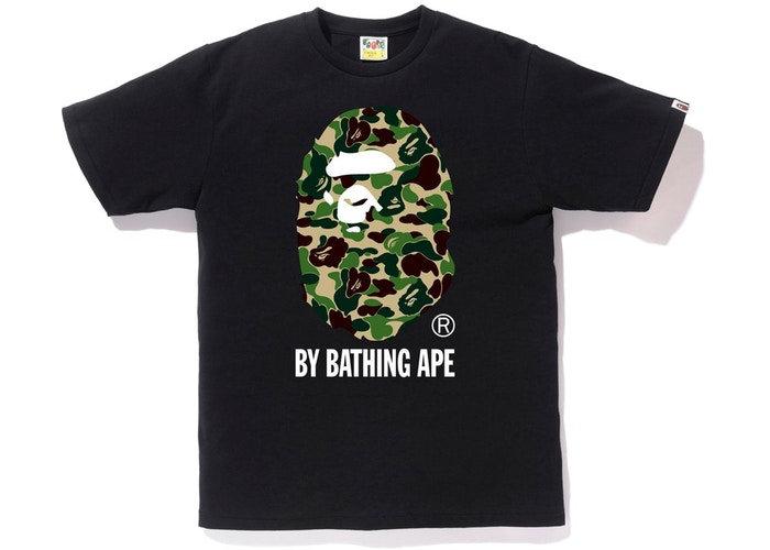 BP ABC Camo Bathing Tee- Black/Green