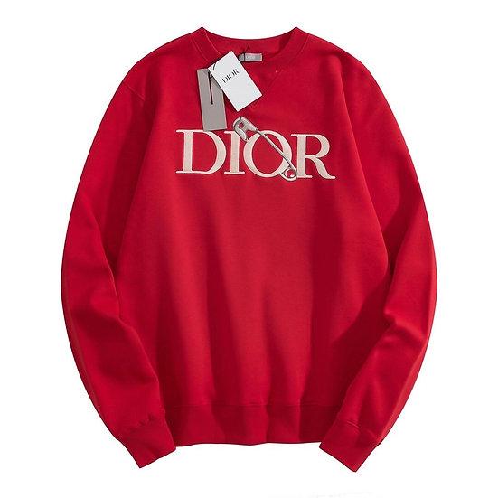 DIOR and Judy Blame Sweatshirt Red