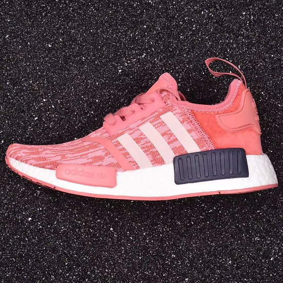 adidas NMD_R1 Primeknit Raw Pink / Trace Pink / Legend Ink