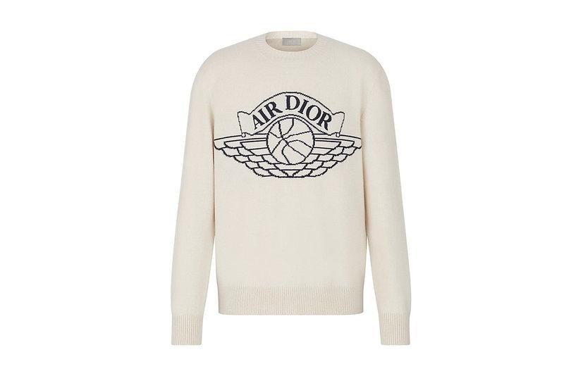 Dior x Jordan Sweater White