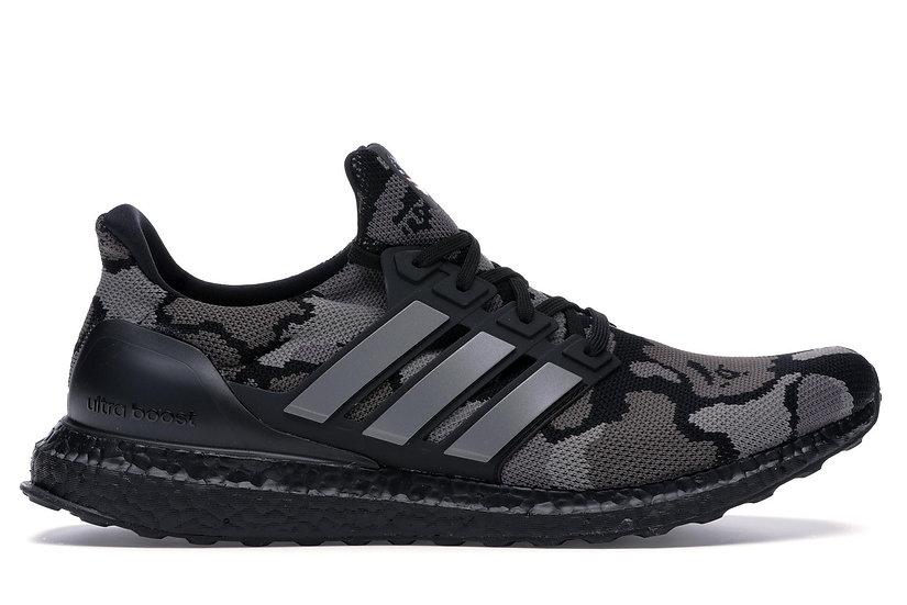 BAPE x adidas UltraBOOST Camo Black