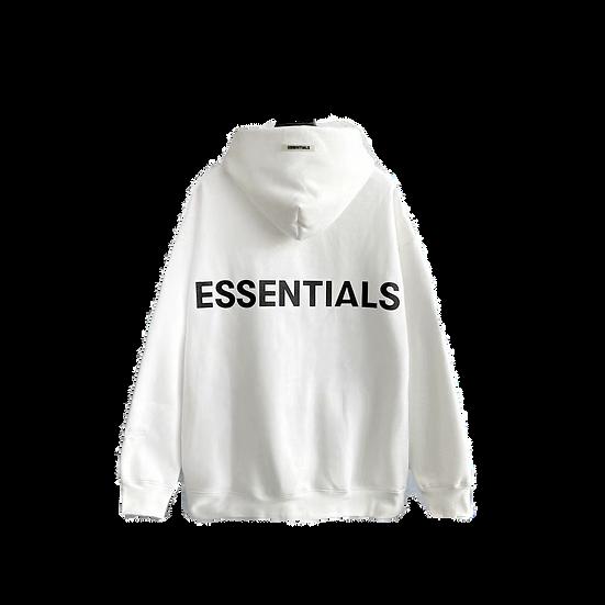 FoG Essentials Hoodie White