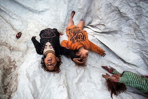 Refugees kids