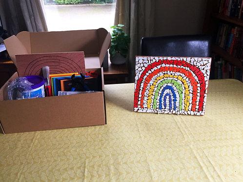 Complete Mosaic Starter Kit + NHS Rainbow Mosaic Craft Kit