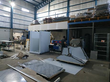 Ampliacion de la Fabrica - Industria Rom