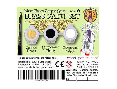 Brass Paint Set