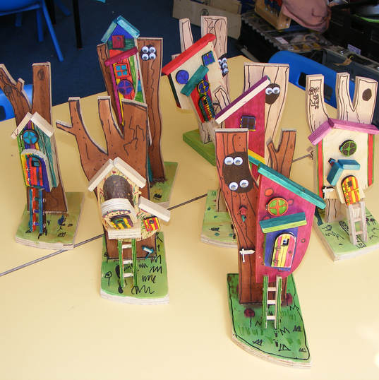 Laxfield Primary Treehouse workshop