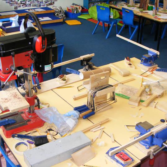Our portable workshop