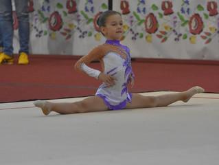 Елена Вукмир, првакиња у ритмичкој гимнастици на Државном такмичењу